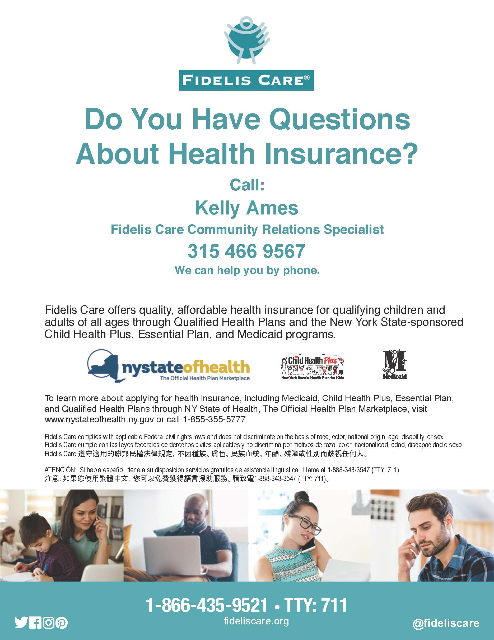 Do You Have Questions About Health Insurance?