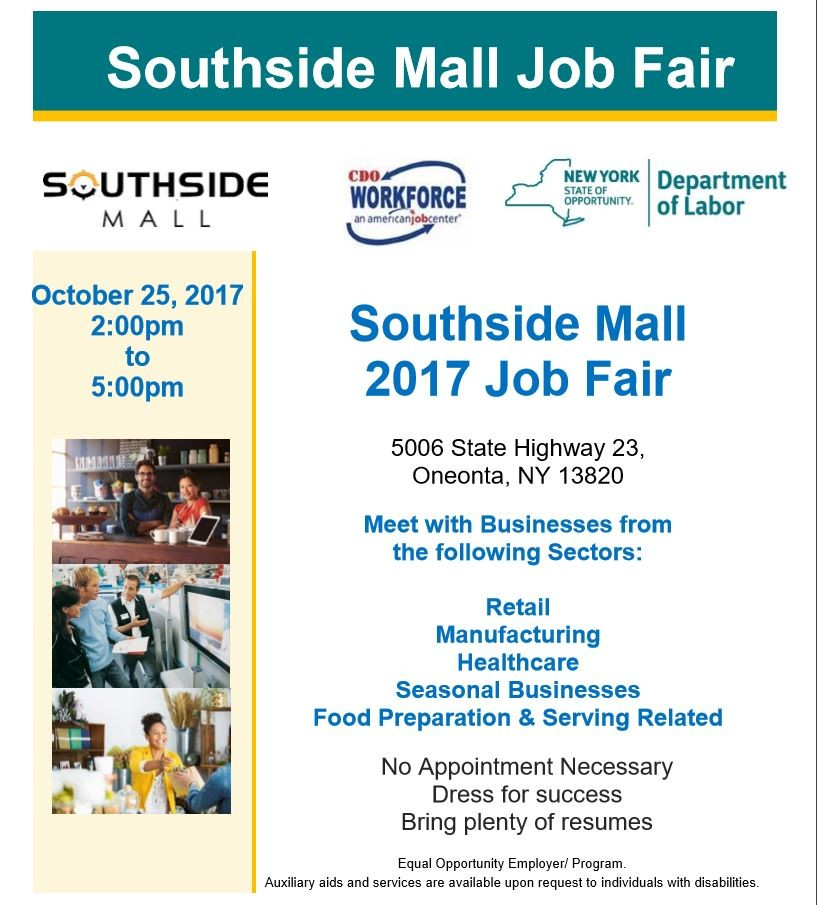Come to the Southside Job Fair!
